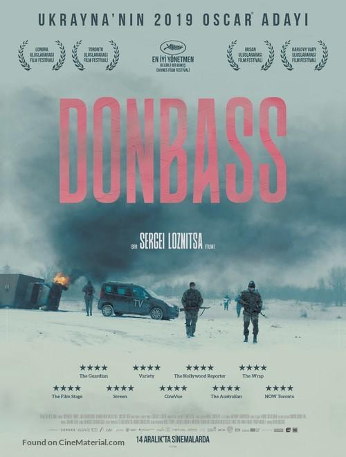 Donbass - Turkish Movie Poster