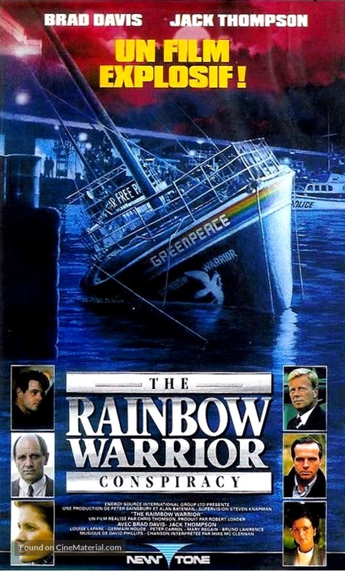 The Rainbow Warrior Conspiracy - French VHS cover