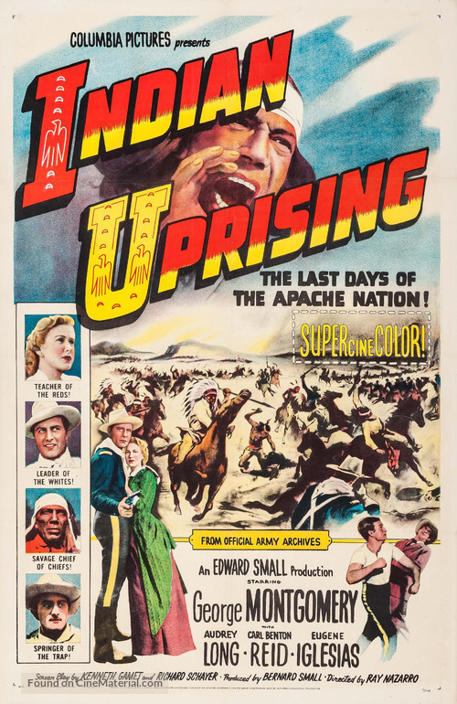 Indian Uprising - Movie Poster