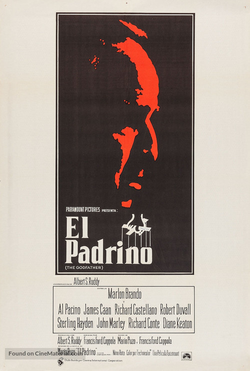 The Godfather - Argentinian Movie Poster
