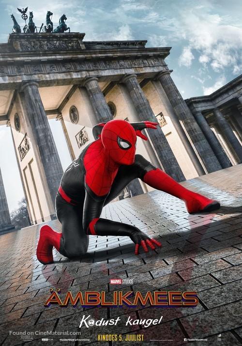 Spider-Man: Far From Home - Estonian Movie Poster