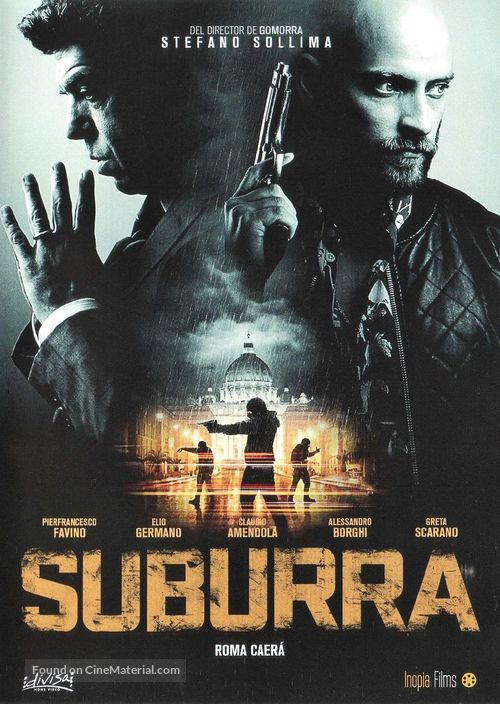 Suburra - Italian DVD movie cover