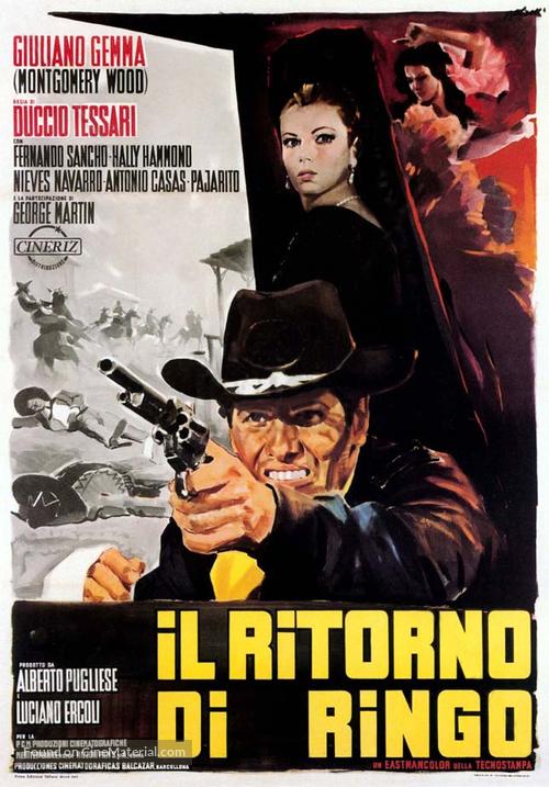 Il ritorno di Ringo - Italian Movie Poster