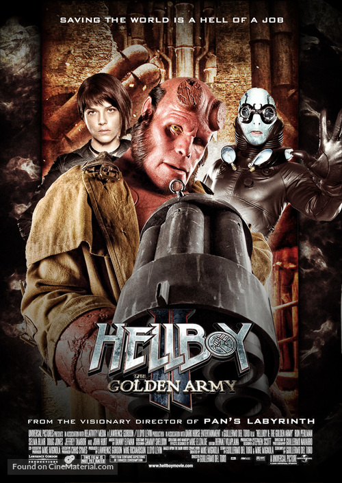 Hellboy II: The Golden Army - poster