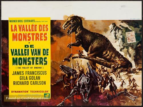 The Valley of Gwangi - Belgian Movie Poster