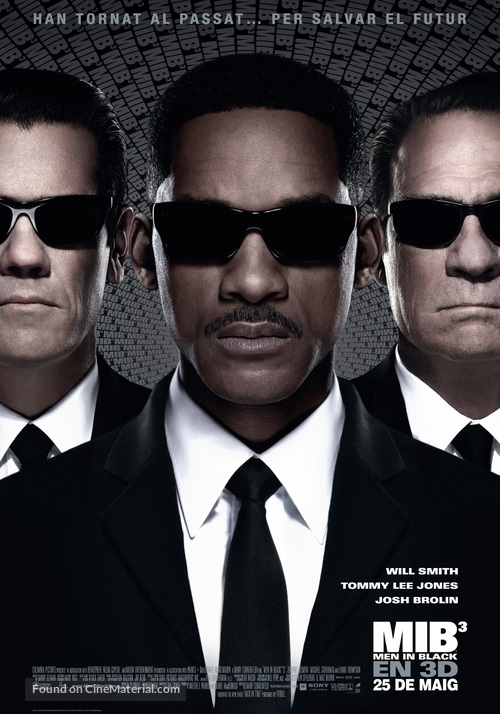 Men in Black 3 - Andorran Movie Poster