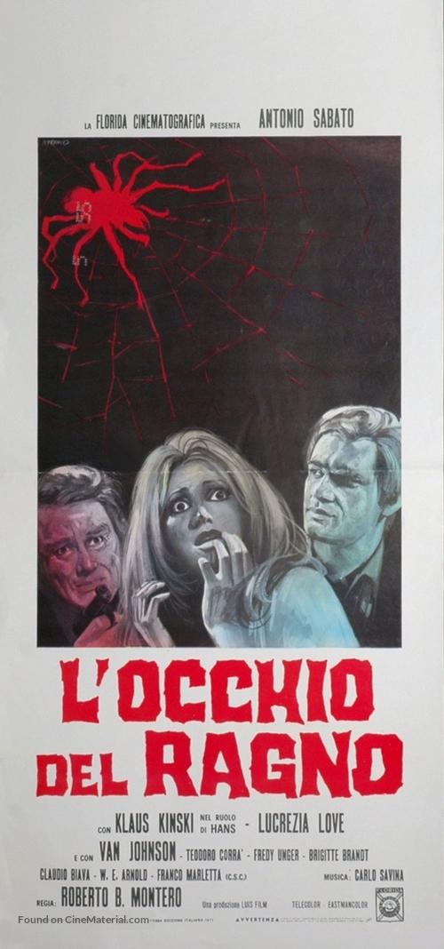 L'occhio del ragno - Italian Movie Poster