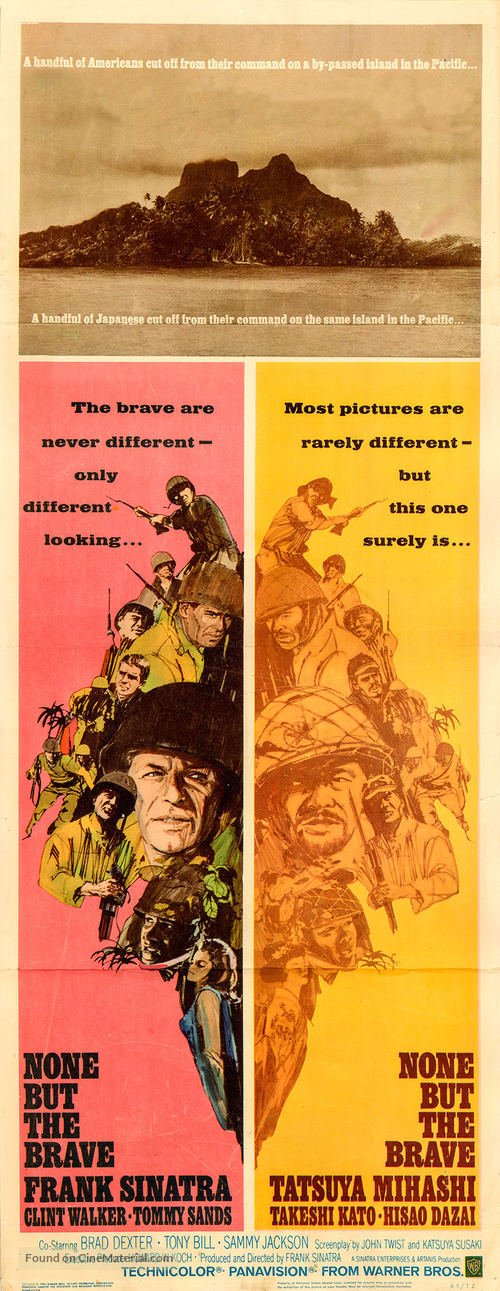 None But the Brave - Movie Poster