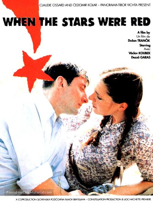 Ked hviezdy boli cervené - French Movie Poster
