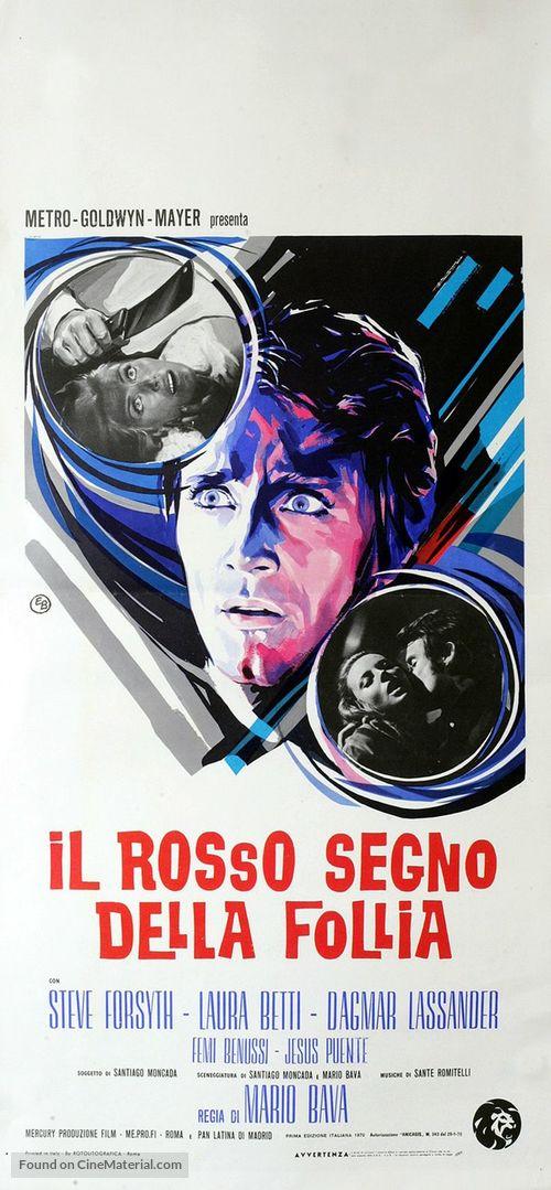 Rosso segno della follia, Il - Italian Movie Poster