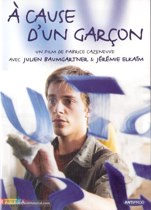 À cause d'un garçon - French DVD cover