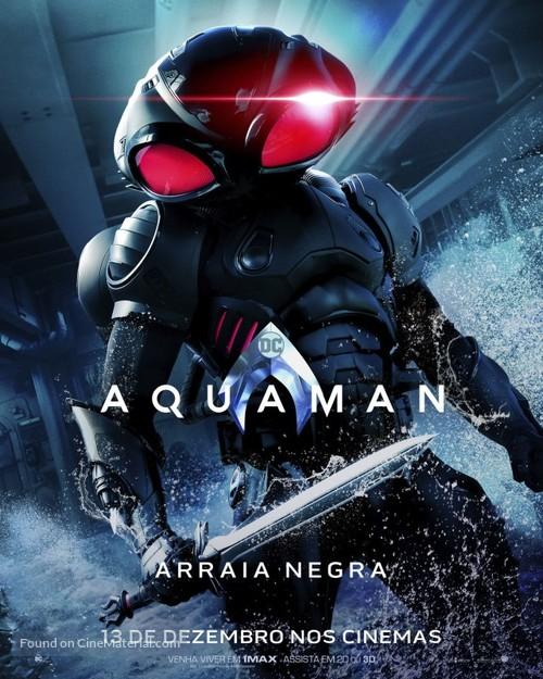 Aquaman - Brazilian Movie Poster