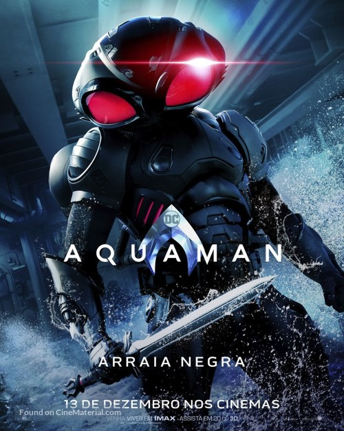 Aquaman - Brazilian Movie Poster