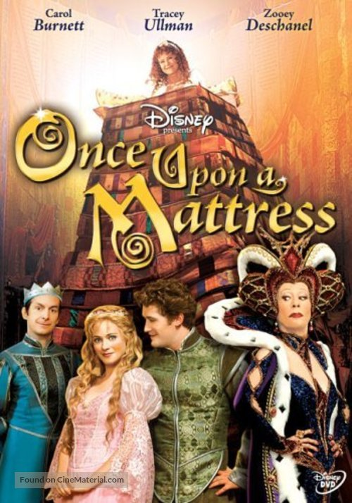 Once Upon a Mattress - DVD cover