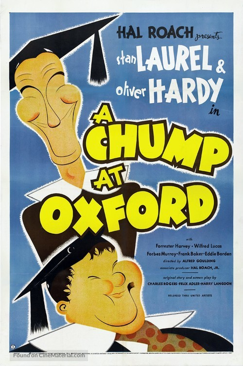 A Chump at Oxford - Theatrical poster