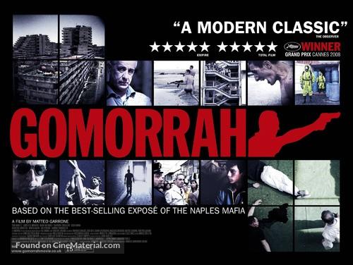 Gomorra - British Movie Poster