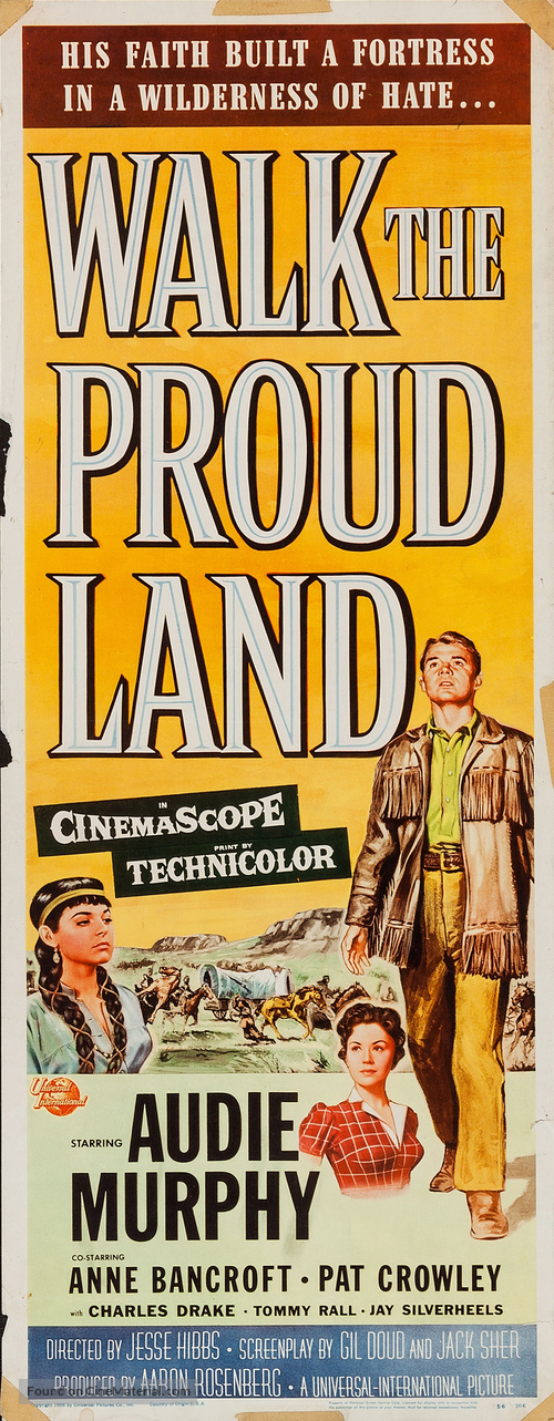 Walk the Proud Land - Movie Poster