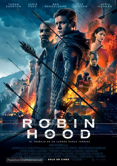 Robin Hood - Colombian Movie Poster