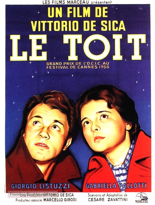 Il tetto - French Movie Poster