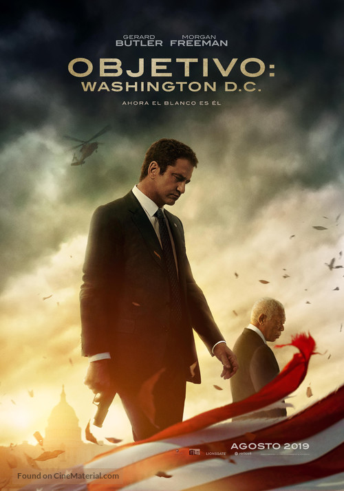Angel Has Fallen - Spanish Movie Poster