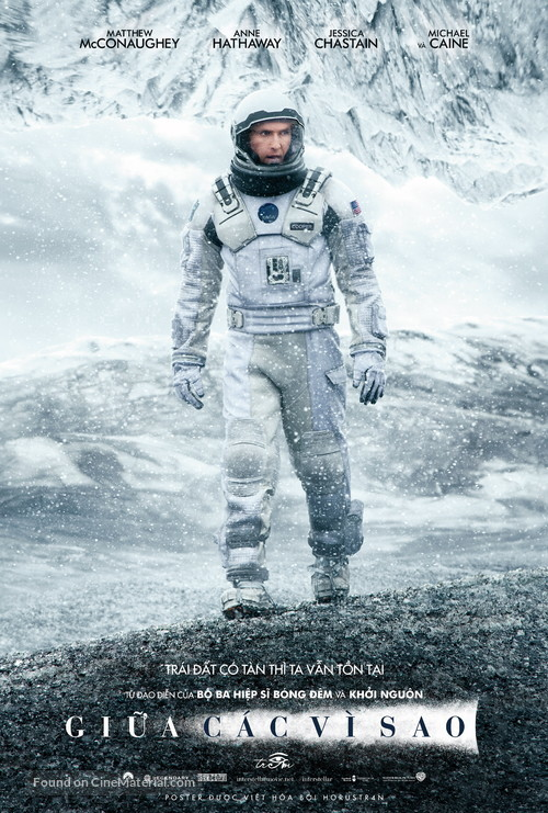 Interstellar - Vietnamese Movie Poster