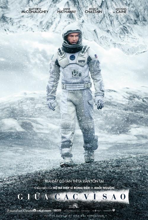 Interstellar - Vietnamese Movie Poster