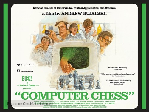 Computer Chess - British Movie Poster