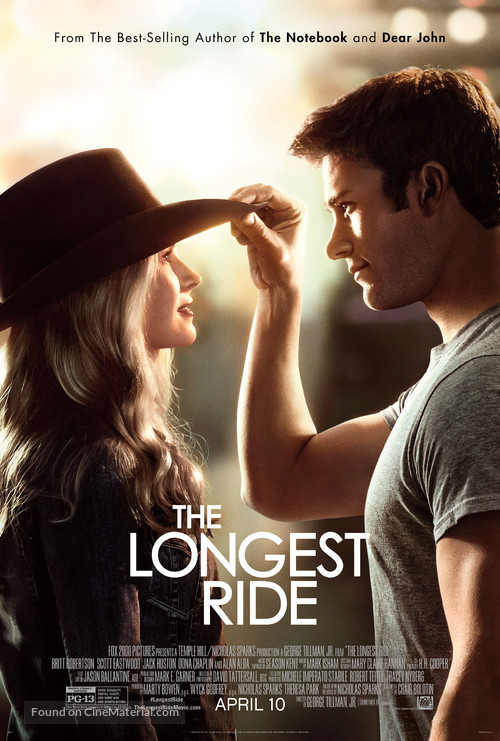 The Longest Ride - Theatrical movie poster