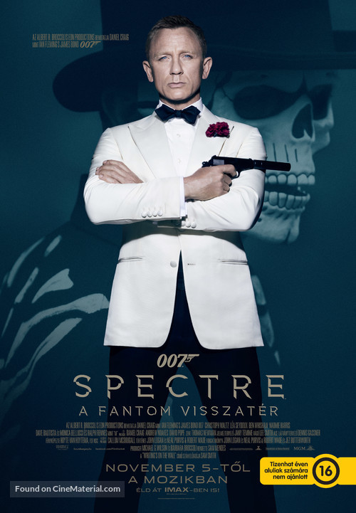 Spectre - Hungarian Movie Poster