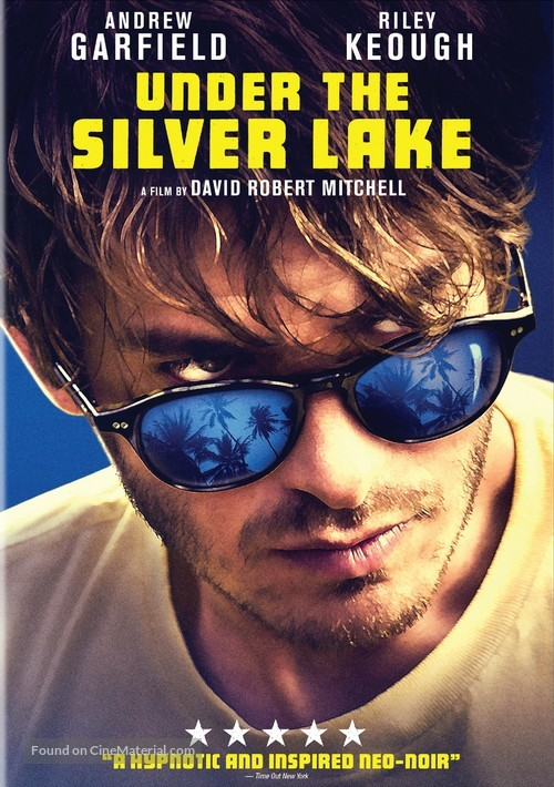 Under the Silver Lake - DVD movie cover
