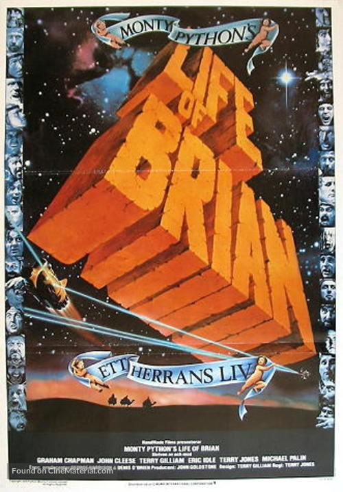 Life Of Brian - Swedish Movie Poster
