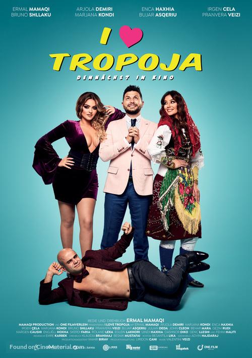 I Love Tropoja - German Movie Poster