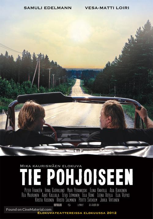Tie Pohjoiseen - Finnish Movie Poster