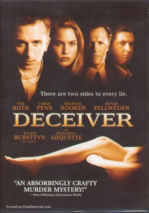 Deceiver - DVD cover