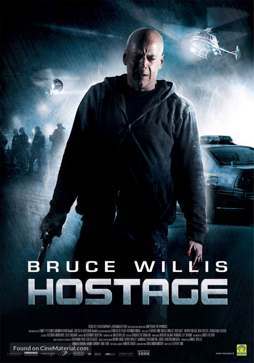 Hostage - Italian Movie Poster
