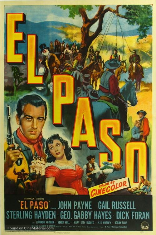 El Paso - Movie Poster