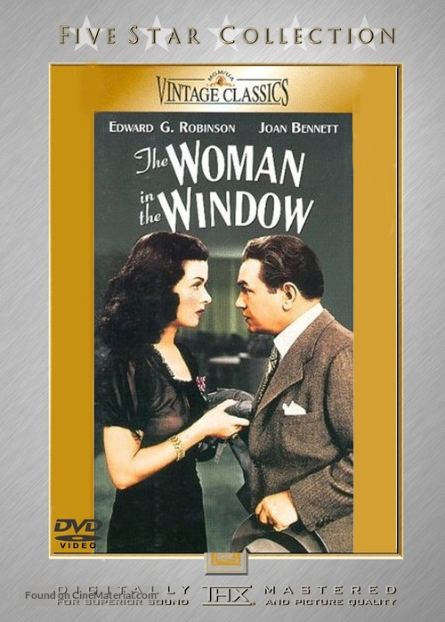 The Woman in the Window - DVD cover