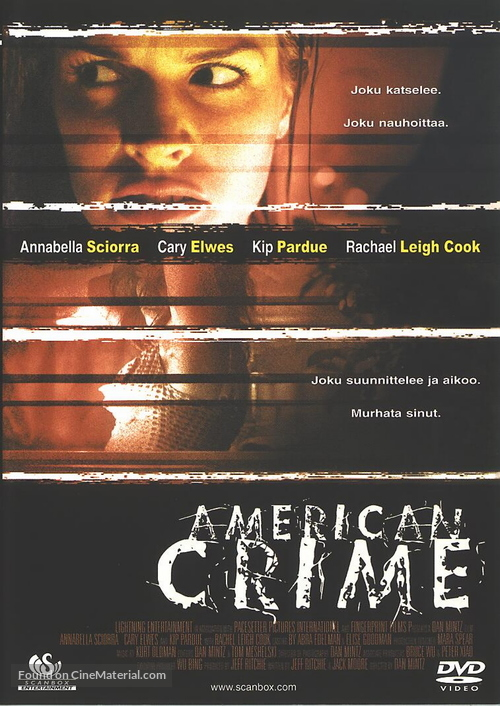 American Crime - Finnish poster