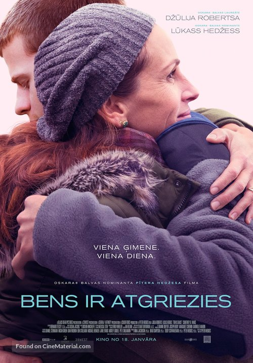 Ben Is Back - Latvian Movie Poster