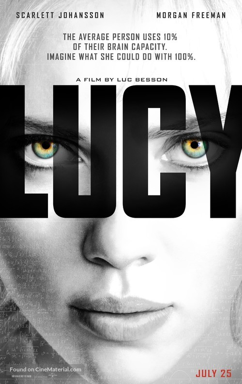 Lucy - Movie Poster