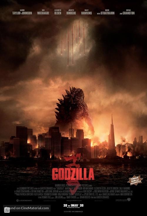 Godzilla - Turkish Movie Poster