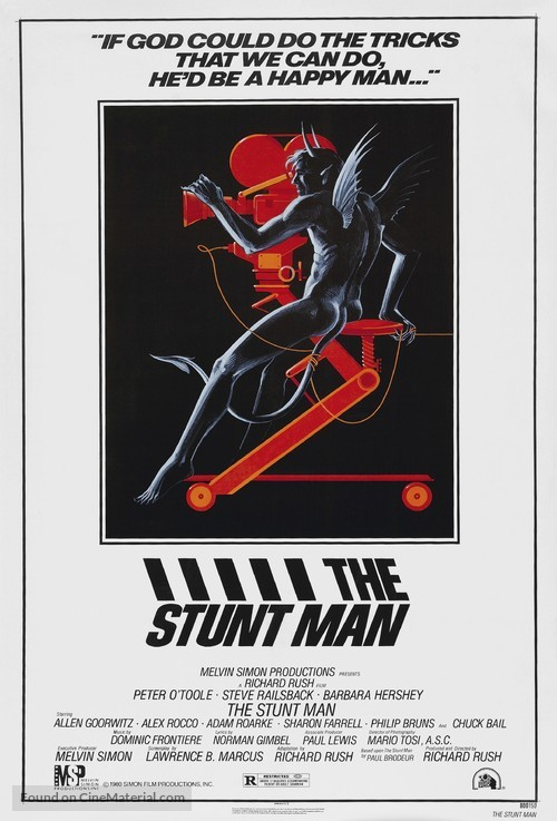 The Stunt Man - Movie Poster