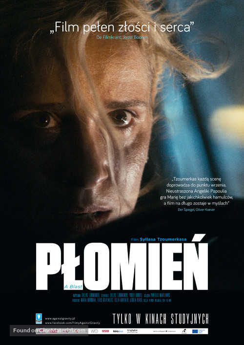 A Blast - Polish Movie Poster