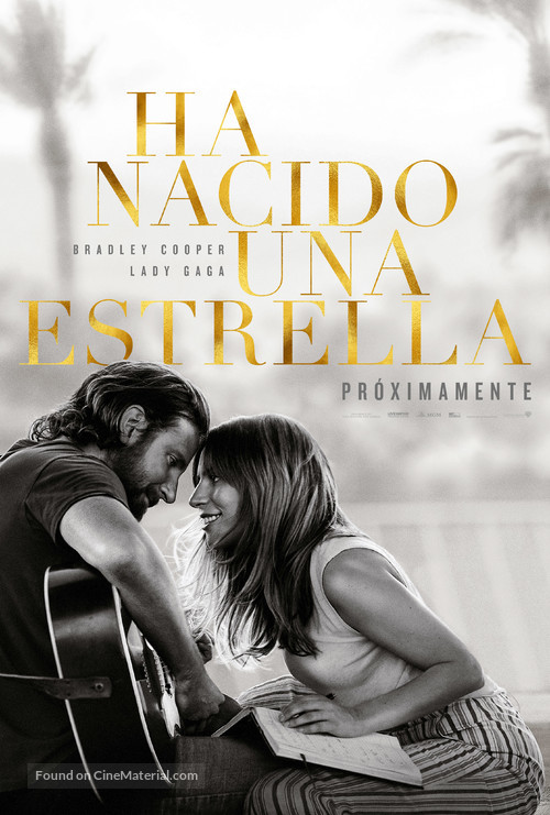 A Star Is Born - Spanish Movie Poster