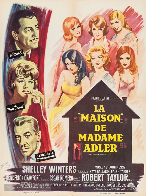 A House Is Not a Home - French Movie Poster