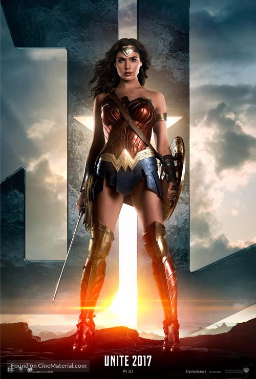 Justice League - Dutch Movie Poster