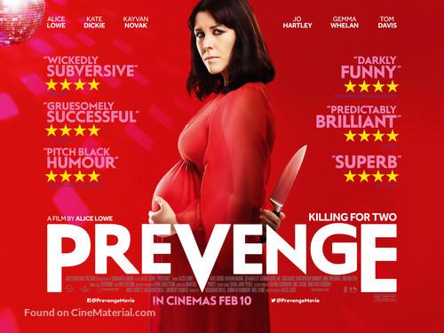 Prevenge - British Movie Poster