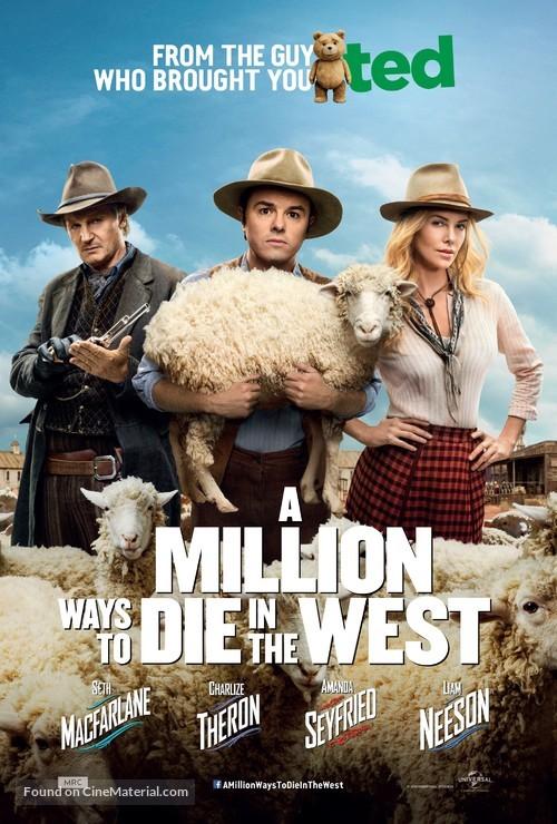 A Million Ways to Die in the West - Dutch Movie Poster