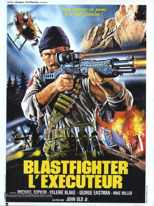 Blastfighter - French Movie Poster