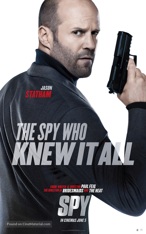 Spy - Character movie poster